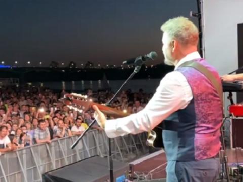 Леонид Агутин пожалел нижегородцев после концерта 19 июня