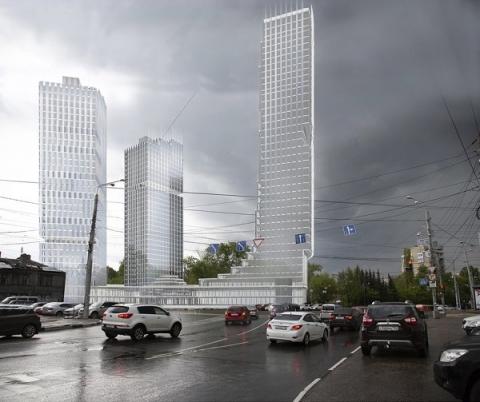 Апартаменты и технопарк возведут рядом с площадью Сенной в Нижнем Новгороде