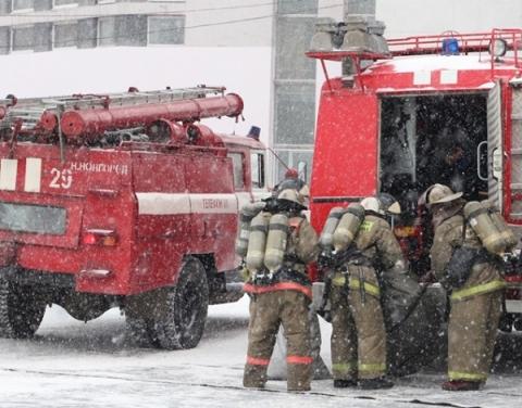 45 человек эвакуировали при пожаре в ЖК «Цветы» в Нижнем Новгороде