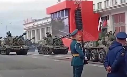 Опубликовано видео Парада Победы в Нижнем Новгороде