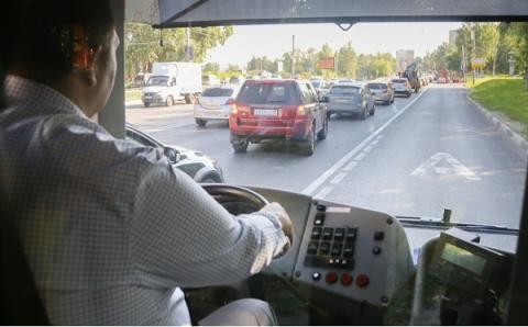 Выделенную полосу для общественного транспорта отменят на проспекте Гагарина с 22 марта