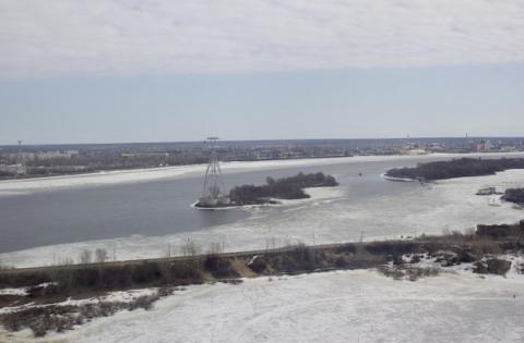 Ледоход на Оке со стороны Мурома начался в Нижегородской области